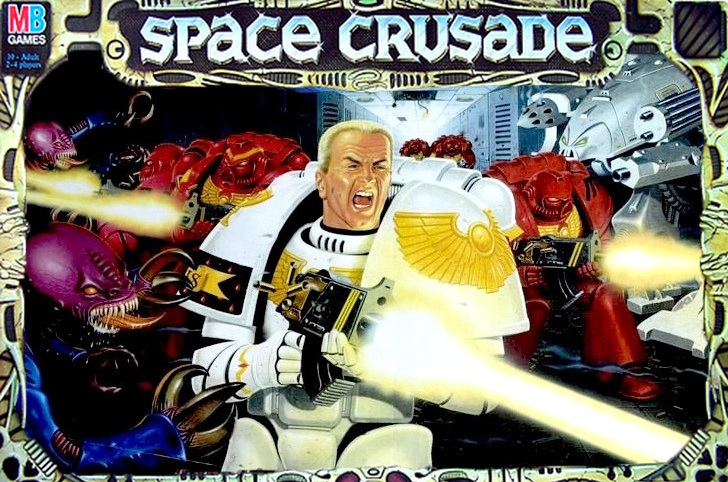 Space Crusade box front